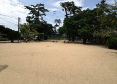 沖洲公園(巨大土管)マリオはたまた、あのマンガの空き地。
